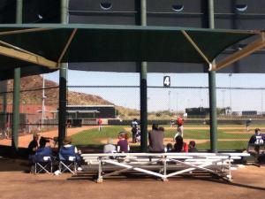 AA baseball in Tempe, AZ