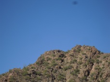 This is the top of Camelback from a viewpoint several hundred yards before the final ascent.