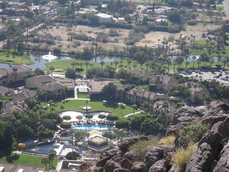 Overlooking the Phoenician Resort