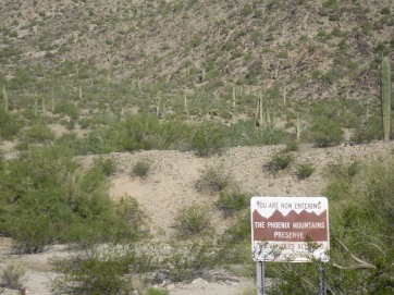 Entrance to the segement of the trail that we hiked.