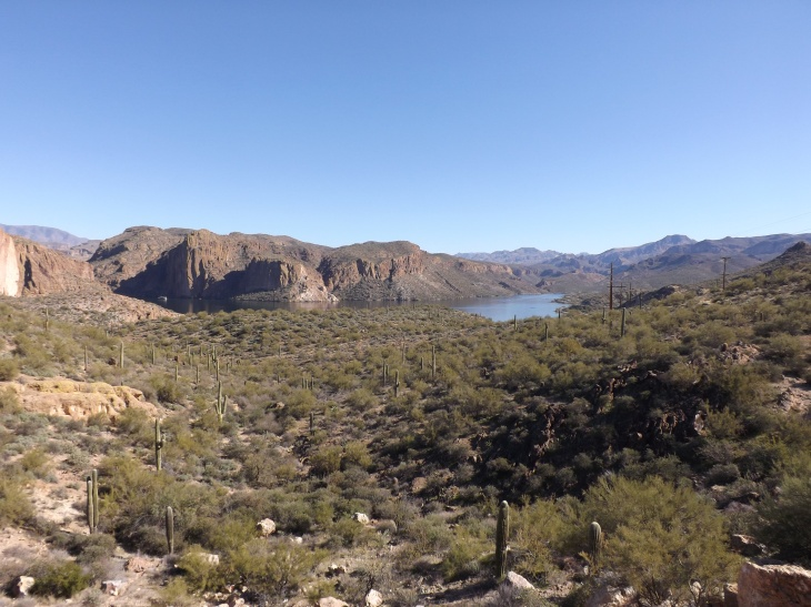 Canyon Lake Overlook, Apache Trail, AZ