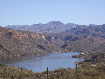 Canyon Lake Overlook, Apache Trail, AZ