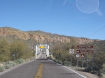 Canyon Lake Turnoff, Apache Trail, AZ