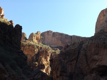 Canyon walls along Apache Trail, Arizona