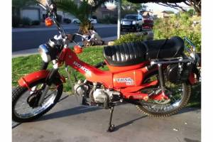 1979 Honda CT 90 trail bike
